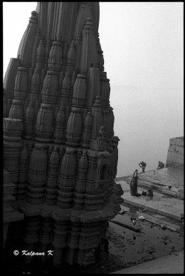 Daily life along the banks of Varanasi