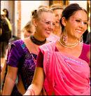 Hare Khrisna Girls.