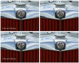 MG T Series Radiator Badge