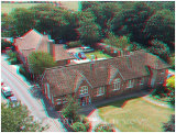 The old Victorian school at New Romney as seen from the top of the church tower.