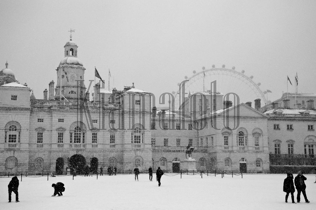 IMG 8044 Horse Guards London in the Snow