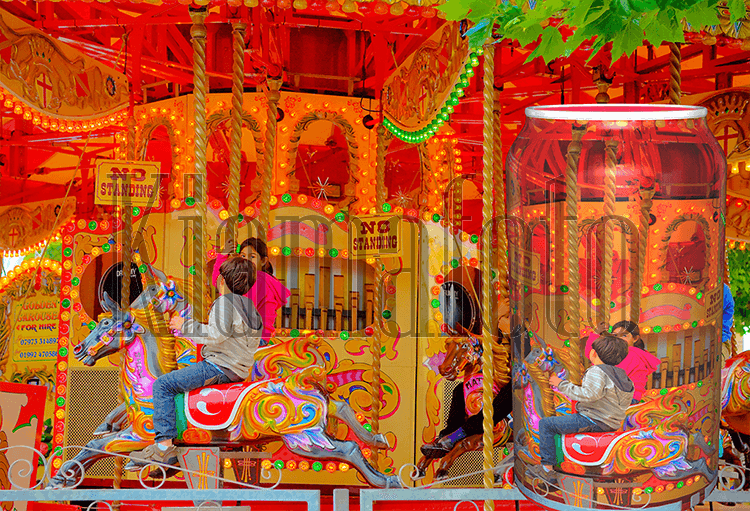 The day out on a Carousel