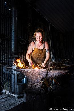 Arkadia Magazine - Colleen DuPon, Blacksmith