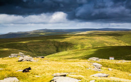 North from Great Mis Tor