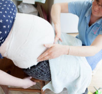Pregnancy bump cast 2