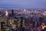 New York - Broklyn Brdige at dusk