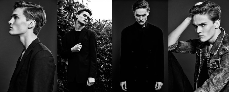 Men model portfolio - Adam Werner @ Elite Models