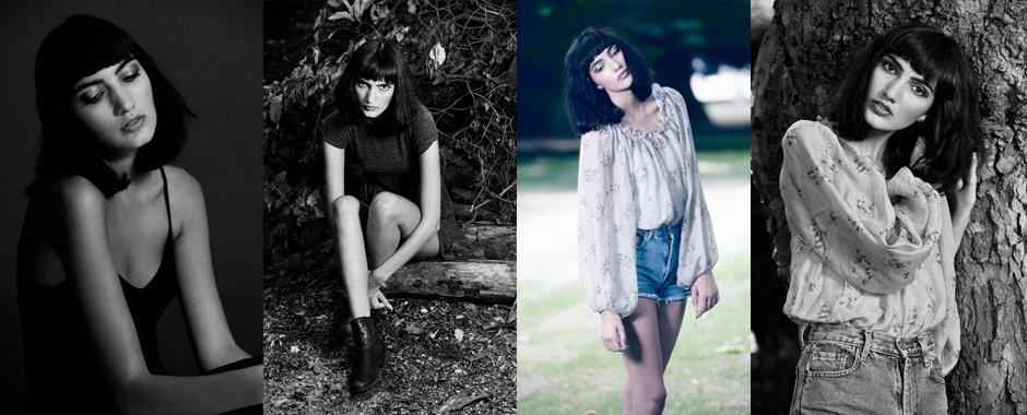 Female model portfolio - Chloe of FM London