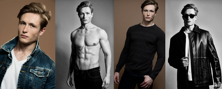 Men model portfolio - Graham