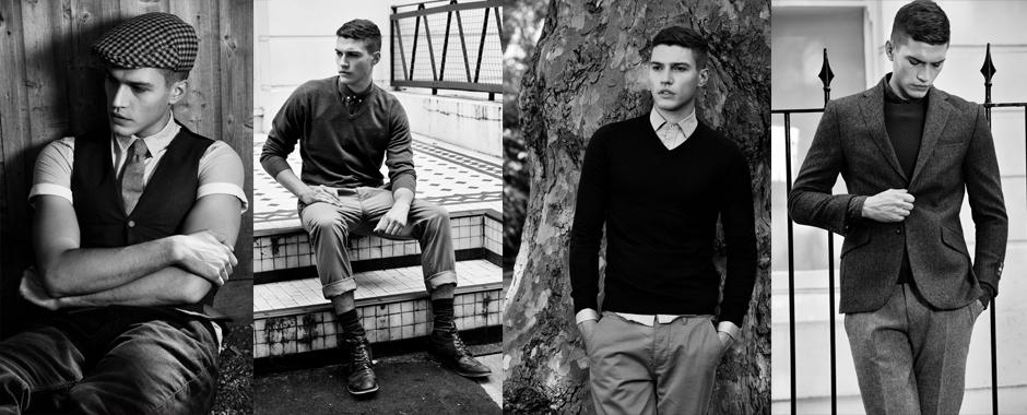 Men's model portfolio shoot - James Chutter @ Models1