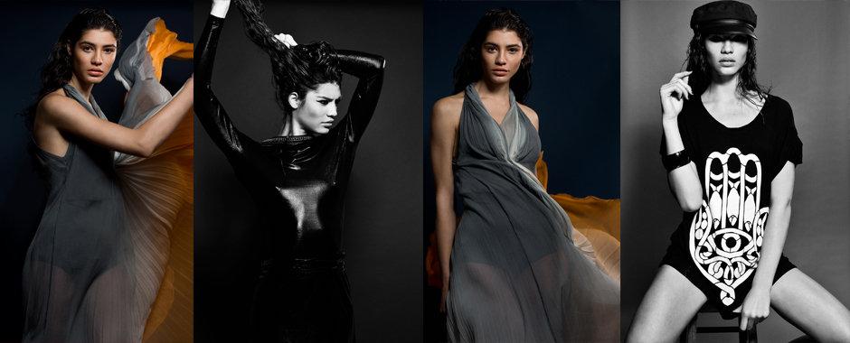 Women's model portfolio - Jess @ D1 Models