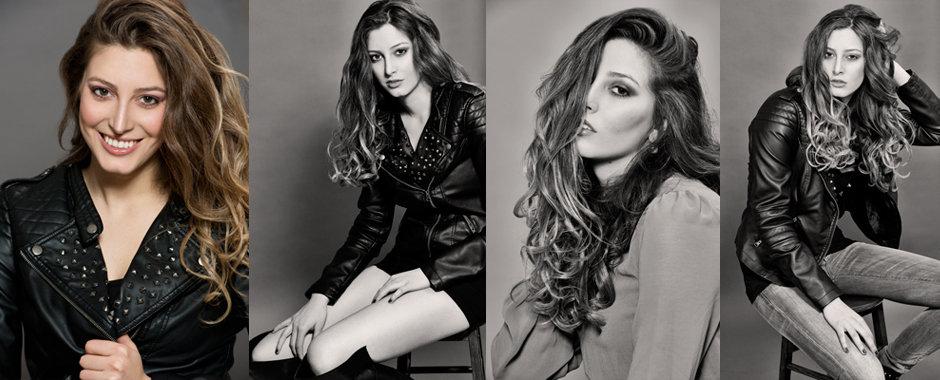 Female model portfolio - new face Mischa Maier