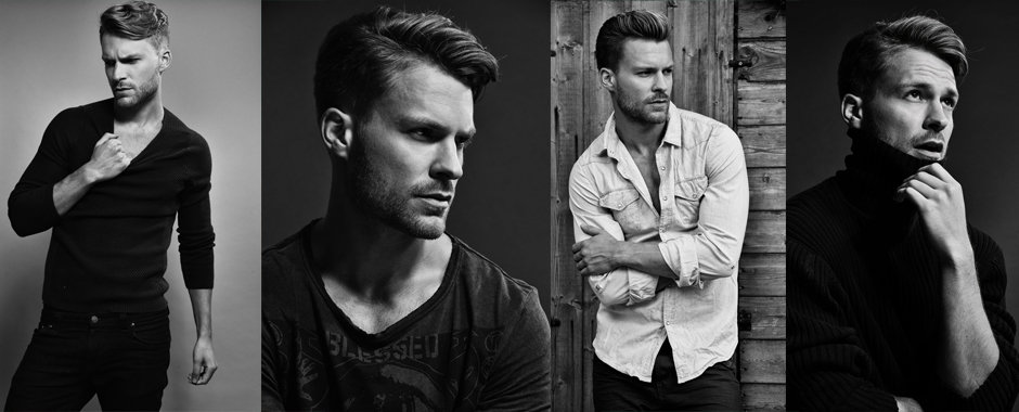 Men model portfolio - Rob Green @ Next Models