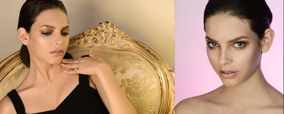 Beauty model portfolio shoot