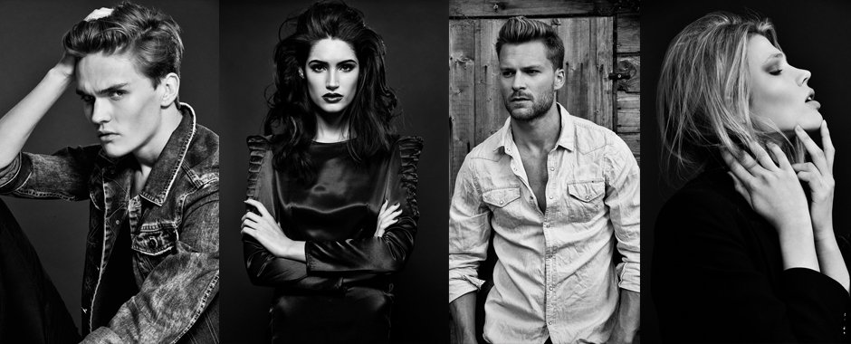 Female & male model portfolios by Fashion photographer Zuzana Breznanikova of London Photo Portfolios