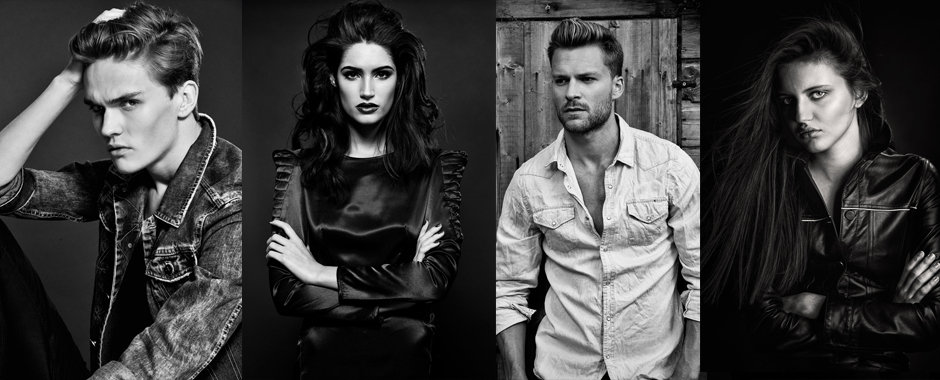 Female & male model portfolios by Fashion photographer Zuzana Breznanikova of London Photo Portfolio