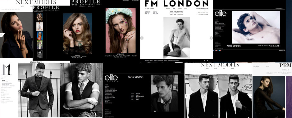 Model portfolio shoots by Fashion & Model portfolio photographer London
