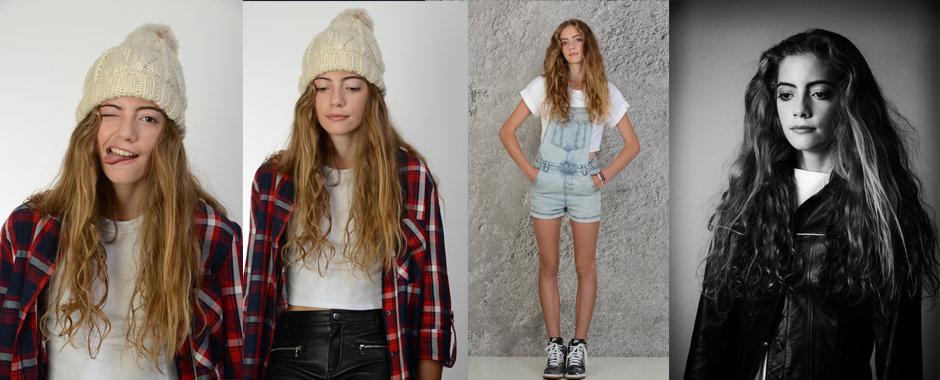 Model portfolio shoots London
