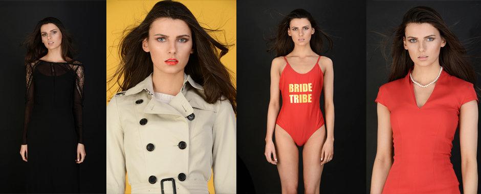 Model portfolio shoot with Diana Dunlop