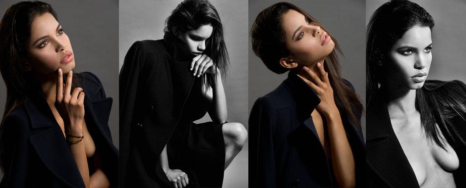 Celebrity photographer London - Brazilian supermodel Daiane Sodre @ Next by fashion & celebrity portrait photographer Zuzana Breznanikova