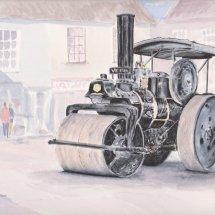 Steam Roller in North Walsham