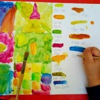 Gustav Klimt Patterns Colour Mixing