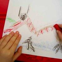 Max Ernst Dragon Rubbings