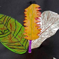 Mixed Media Leaf Observations