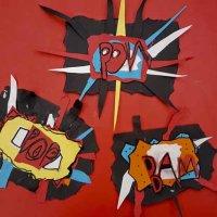 Roy Lichtenstein Explosive Collage