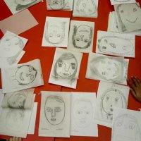 Self Portraits and tracings