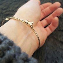 = GOLDEN MOUSE BANGLE = £548