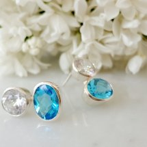 =TOPAZ EARRINGS=