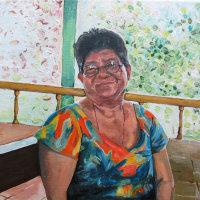 Untitled Portrait Painting