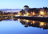The Four Courts and River Liffey, Dublin