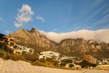 Camps Bay and Table Mountain, Cape Town, South Africa