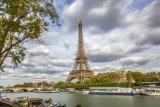 The Eiffel Tower and River Seine, Paris, France