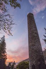 Round Tower, Monastic City, Glendalough, Wicklow