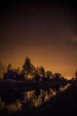 Night Sky and Royal Canal, Kilpatrick, Mullingar, Westmeath