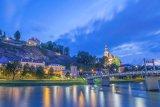 River Salzach, Salzburg, Austria