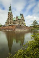 Rosenborg Slot (Castle), Kongens Have (Royal Gardens), Copenhagen, Denmark