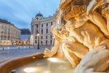 Michealerplatz, The Hofburg, Vienna, Austria