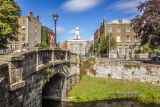Grand Canal and Pepper Canister (St. Stephen's Church), Dublin