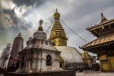 Swayambhu , Kathmandu, Nepal