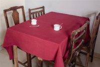 1115253-Hand Woven Cotton Tablecloth