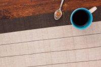 1118262-Hand Woven Cotton Table Runner