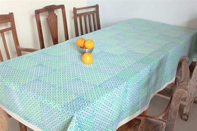 1415249-Hand Block Printed Tablecloth