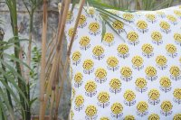 1421186-Organic Cotton Block Printed Cushion Cover