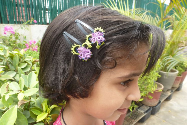 2025363-Tatted Hair Clip
