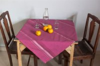 2215255-Hand Woven Cotton Tablecloth