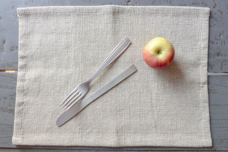 2218282-Hand Woven Cotton Placemat